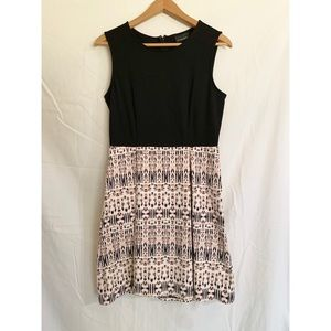 Fit and flare tank top dress